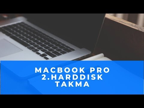 Macbook Pro'ya 2. hard disk nasıl takılır?How To Add Second HDD to Replace Optical Drive PART-2