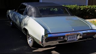 1972 BUICK SKYLARK CONVETIBLE TEST DRIVE & REVIEW