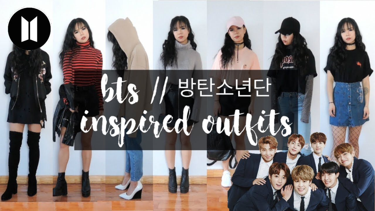 Bts 방탄소년단 Inspired Outfits Youtube