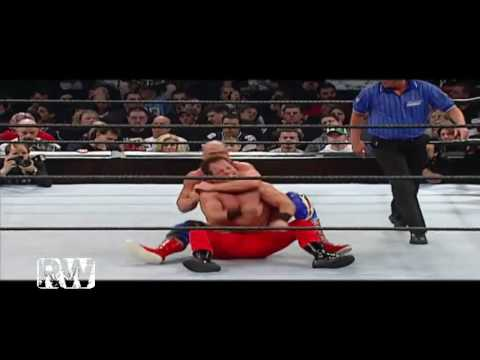Chris Benoit vs Kurt Angle (WWE Royal Rumble 2003) - Highlights