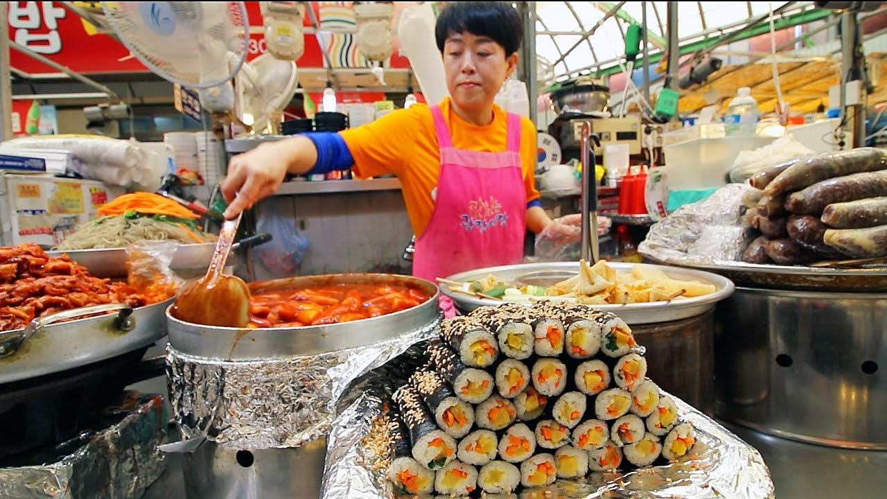 Best Street Foods At Seoul South Korea