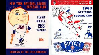 Cincinnati Reds at New York Mets May 12 1963 (2nd Gm) Full Game Radio Broadcast