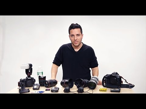 Wedding Photography Tips: Gear Bag with Moshe Zusman