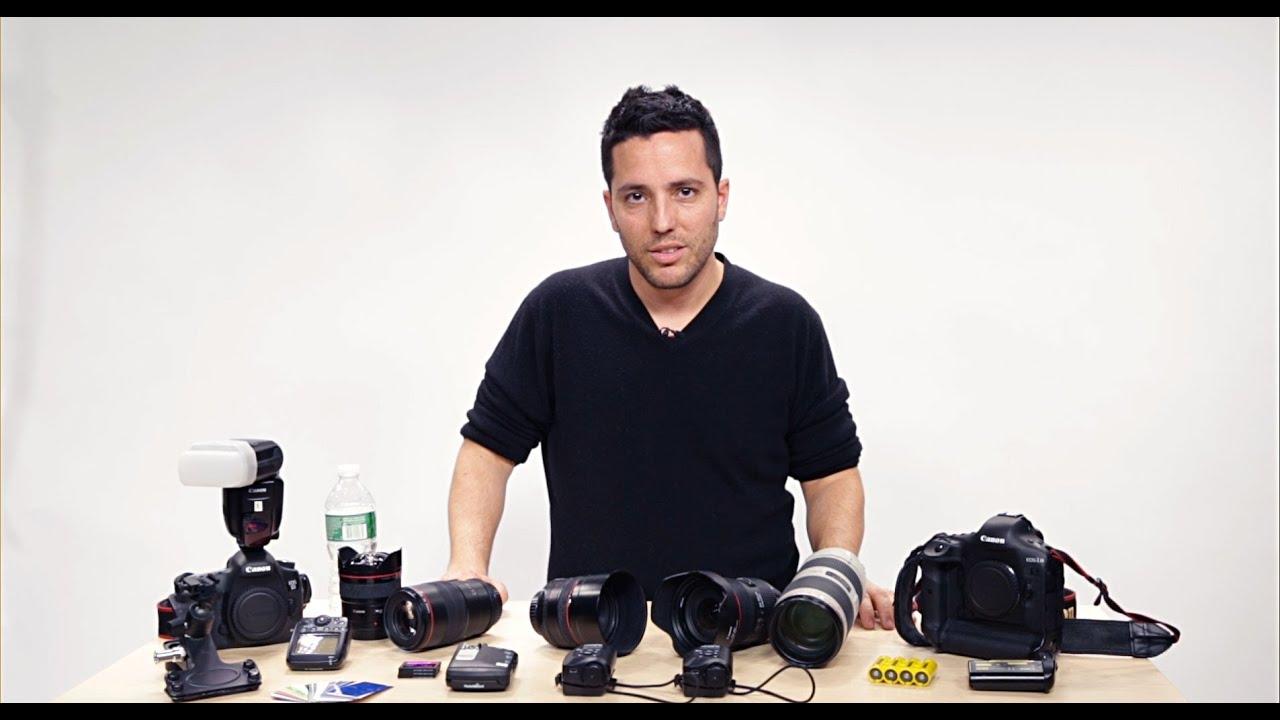 Youtube Wedding Photography Tips: Wedding Photography Tips: Gear Bag With Moshe Zusman