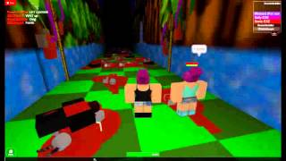 Rose and Bloody play Sonic EXE and Sally EXE Roblox (Rose Side)