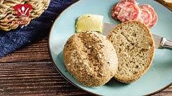 KETO 😋 Kümmel Brötchen 🍞 schmecken wie Regensburger Schwarzer Kipferl I Low Carb Rezept