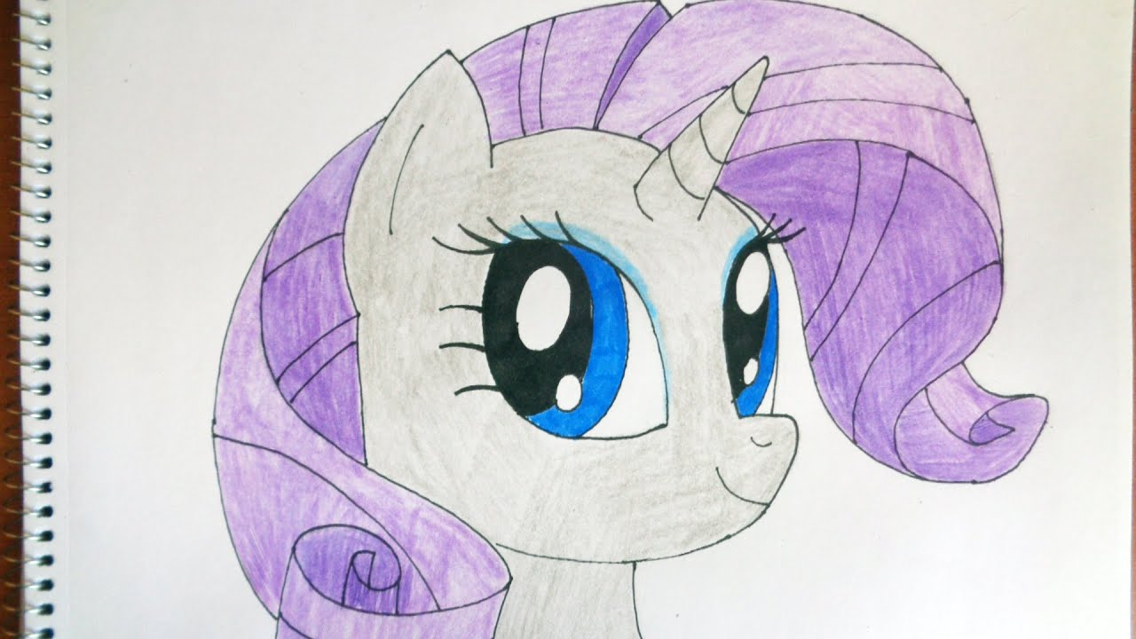 how to draw my little pony rarity   u041a u0430 u043a  u043d u0430 u0440 u0438 u0441 u043e u0432 u0430 u0442 u044c  u043f u043e u043d u0438