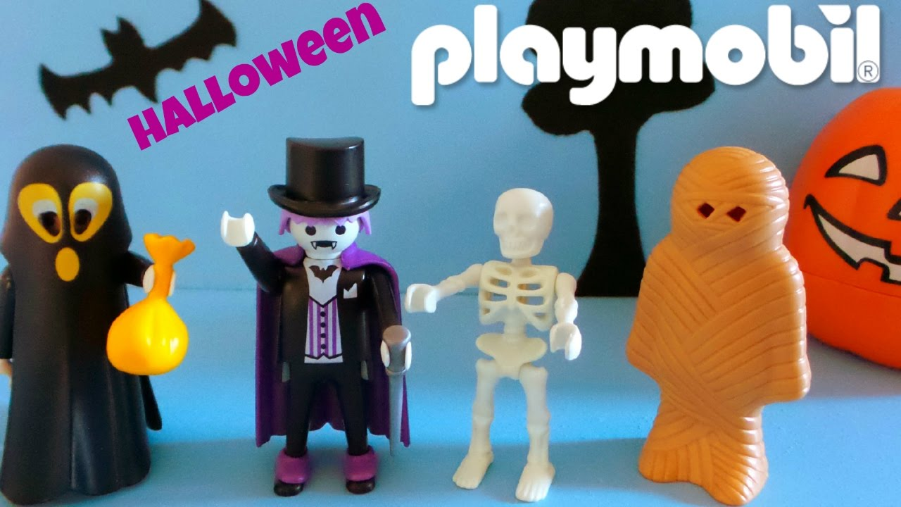 Playmobil Halloween Quick.Playmobil Toys Unboxing Halloween Editions
