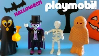Playmobil Toys Unboxing Halloween Editions