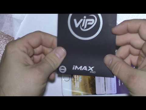 Как наклеить Защитное стекло iMAX iPhone 6 /6s 3D white