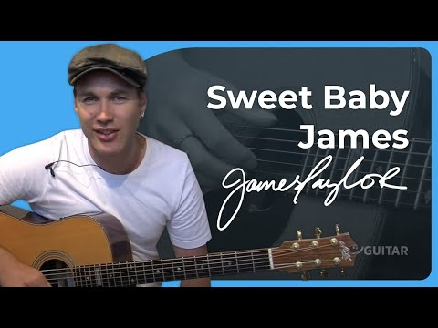 Sweet Baby James - James Taylor (Songs Guitar Lesson ST-625)How To Play