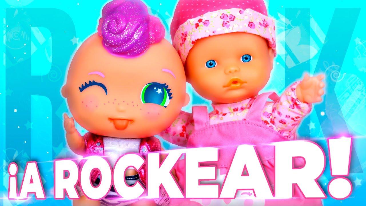 👶 ¡Las Trillizas Bebés NENUCO Baby Talks van a un concierto de PUNKY PINK!