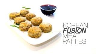 Korean Fusion Meat Patties