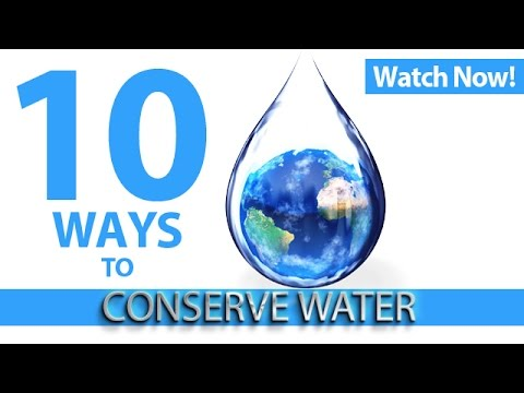 Qnet 10 ways to conserve water this world water day 2015 for Top 10 ways to conserve water