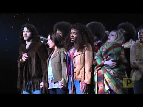 "Highlights of Tony Award-Winning ""Hair"" on Broadway"