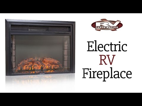 Electric RV Fireplace