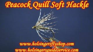 Peacock Quill Soft Hackle, Holsinger's Fly Shop
