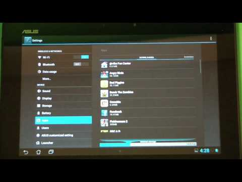 How To Uninstall An App On An Android Tablet