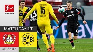 17-Year old Wirtz Scores for Bayer's win! | Leverkusen - Borussia Dortmund | 2-1 | All Goals | MD 17