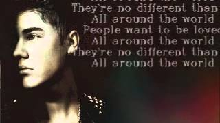 All Around The World Lyrics - Justin Bieber ft. Ludacris