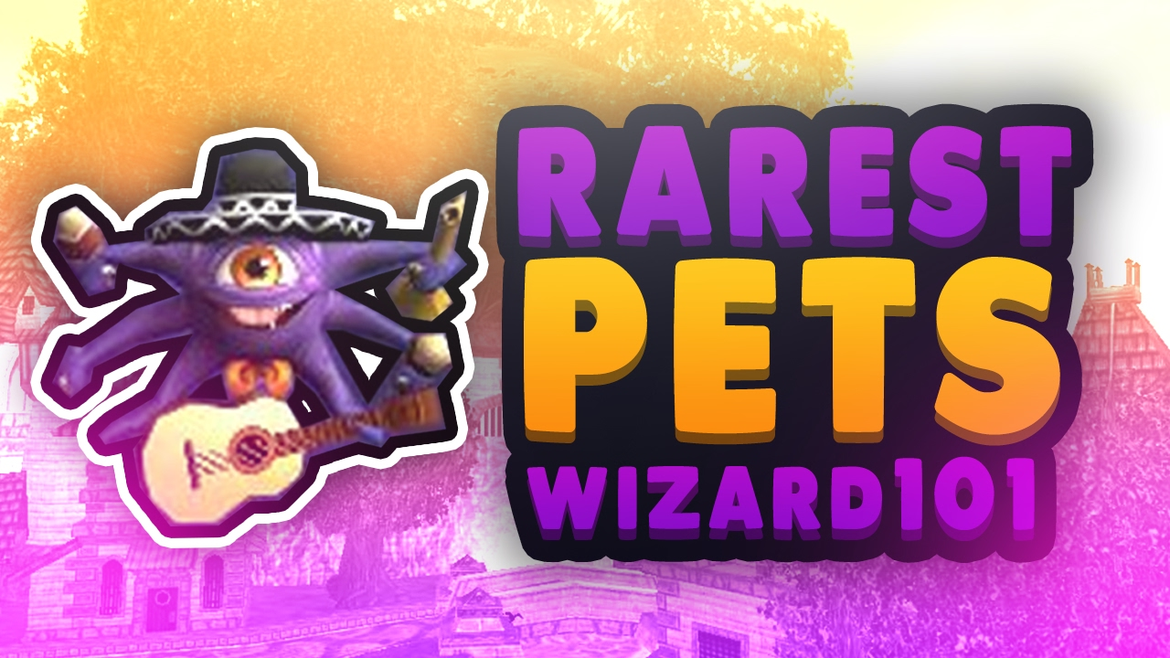 Wizard101 Pets: Rare Pets & Where To Find Them! Never Seen Before Pets!