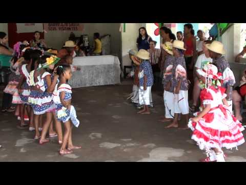 Traditional Brazilian Dance performed by Afro-Brazilian children in a Quilombola community