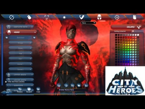City of Heroes' Character Creator is Alive! - Let's Look At CoH Icon