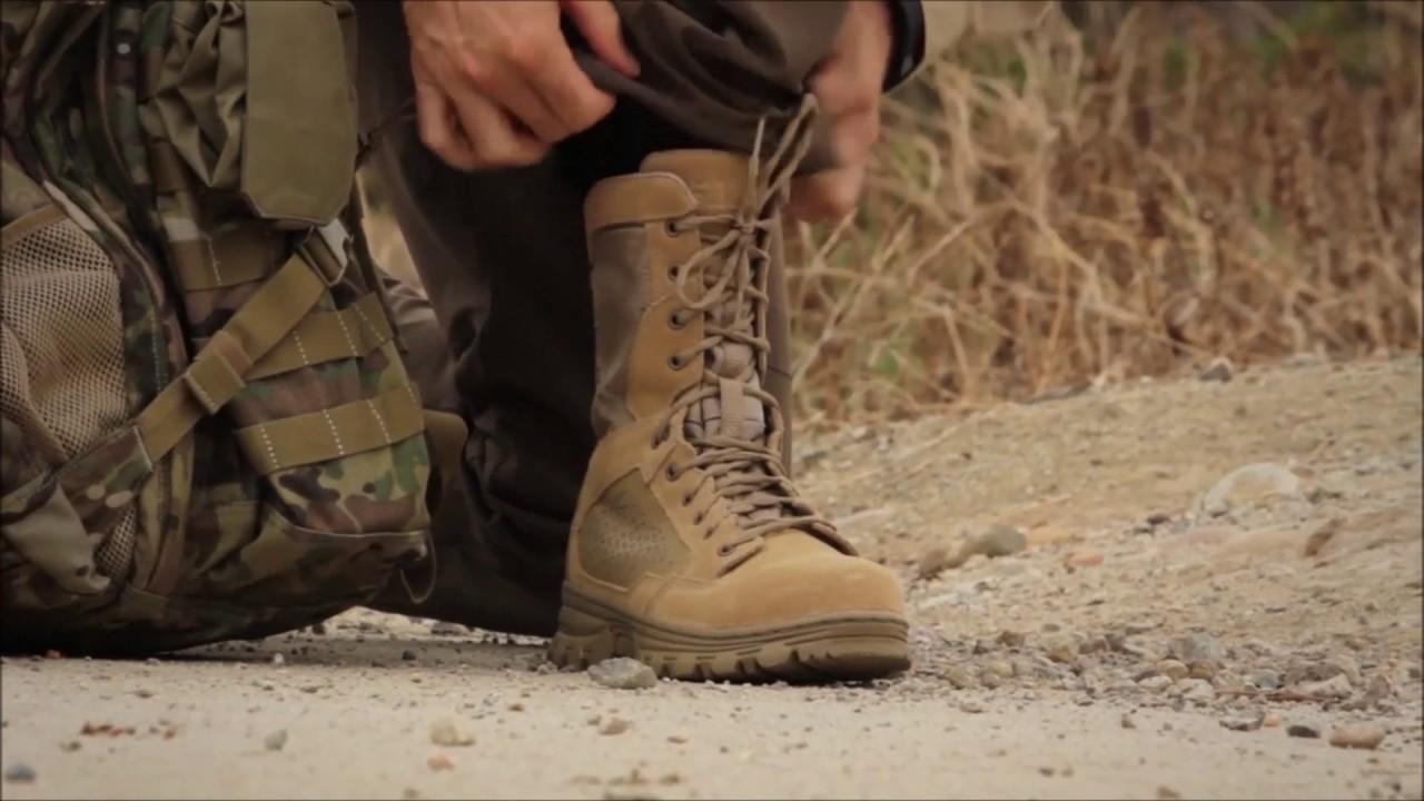 8e70ee28a0f 5.11 EVO 8in Desert Side Zip Boot Video Demonstration