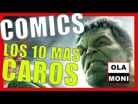 🔴-comics-[top-🔟-mas-caros]-¡los-10-cómics-más-🔝-caros-de-la-historia!---ola-moni