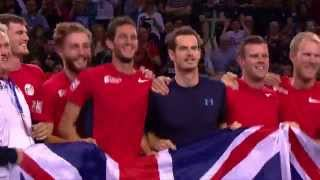 Highlights from Great Britain's Davis Cup victory over USA