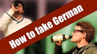 How to fake German
