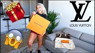 SURPRISING MY EX WITH HER FIRST LOUIS VUITTON PURSE EVER👜💰🎁