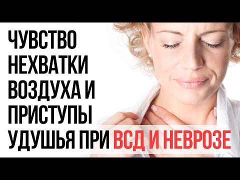 Чувство Нехватки Воздуха и Приступы Удушья При ВСД и Неврозе | Павел Федоренко