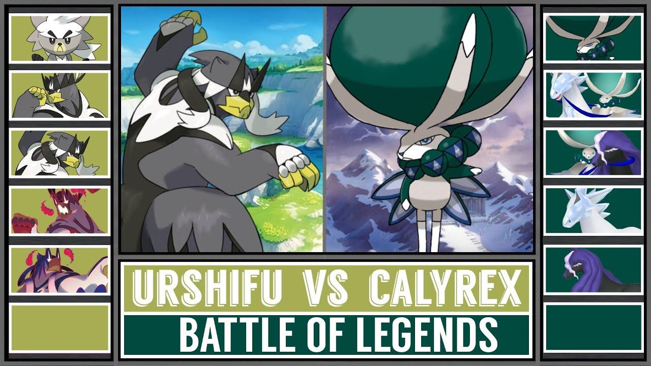 Battle of Legends: URSHIFU vs CALYREX! (Pokémon Sword/Shield)