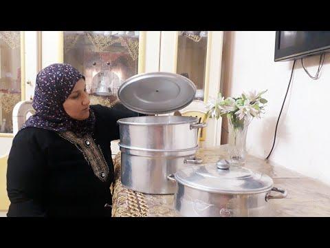 عزومة كبيرة فى بيت حمايا وخالتى / وهما اللى طبخوا احلى عزومة/ تعالوا قضوا معانا يوم