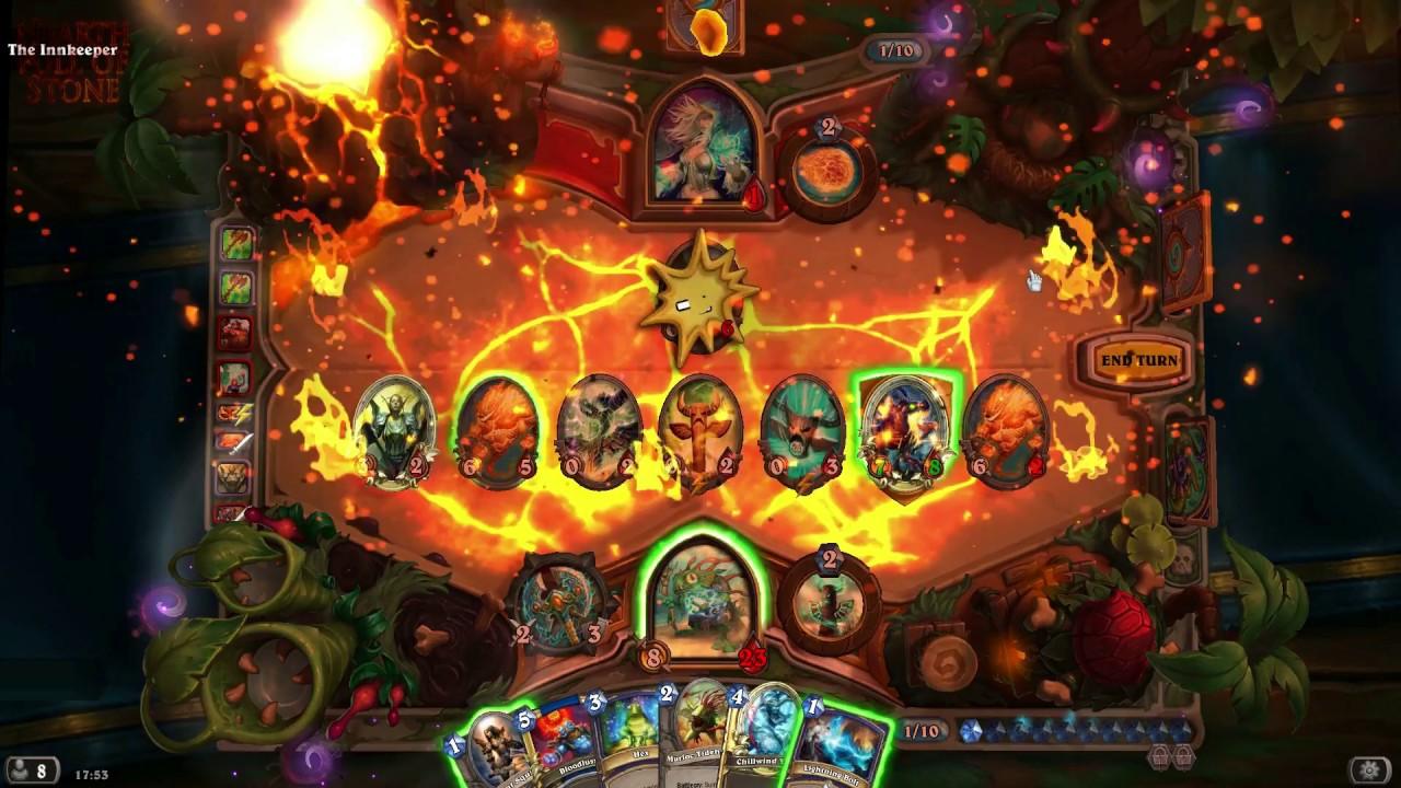 Hearthstone Un Goro Battlefield Game Board Effects