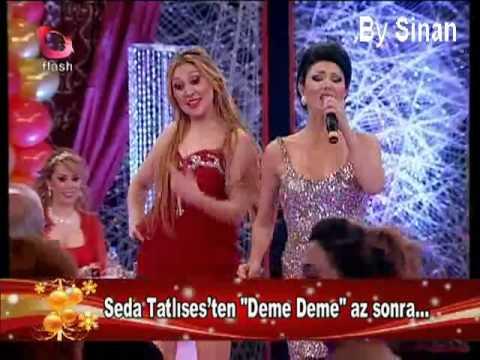 Ayşe Dinçer Tiki Tak Tak Yılbaşı Özel Programı Flash Tv
