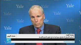 السفير الأمريكي السابق في سوريا: رحيل الأسد غير وارد