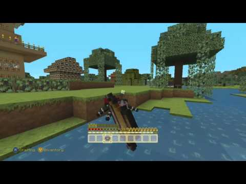 MINECRAFT: Trading, Mining, and Crafting!
