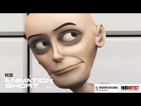 """CGI 3D Animated Short Film """"THE ROOM"""" Amazing Conceptual Animation by Vancouver Film School"""
