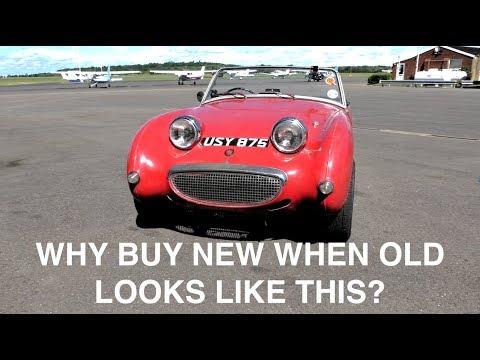 Austin Healy Frogeye Sprite mini drive!