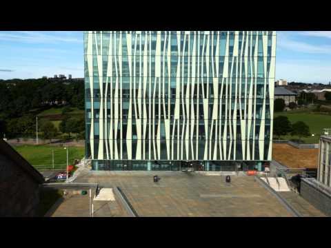 Aberdeen University Campus Shot In 4K