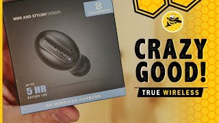 SoundPEATS D6 True Wireless Bluetooth Earbud / Headphone Review