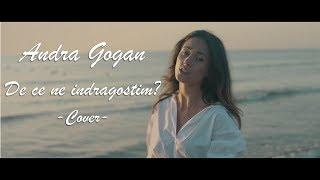 Andra Gogan - De ce ne indragostim (Alina Eremia) Cover