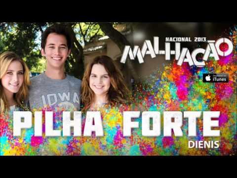 """Dienis """"Pilha Forte"""" Novela Malhação 2013 Rede Globo"""