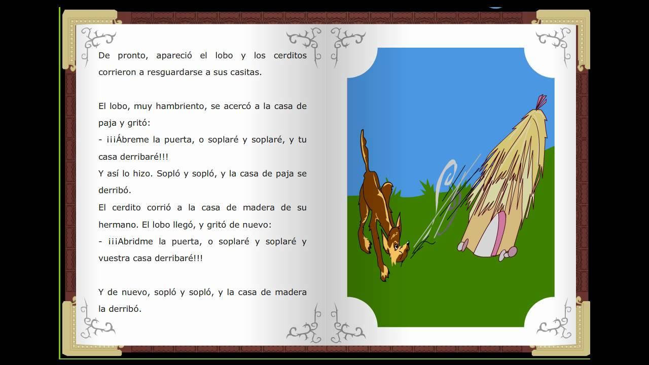 Los Tres Cerditos, Cuentos Clásicos Infantiles En Español