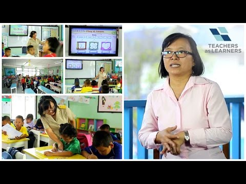 การจัดการเรียนรู้แบบ E–Learning โรงเรียนวัดสวนแตง (การศึกษาทางไกลผ่านดาวเทียม)