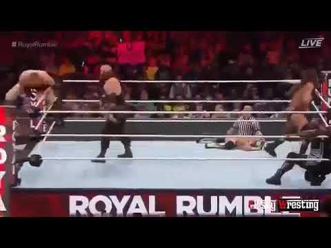 WWE Royal Rumble 2017 Surprise Roman...