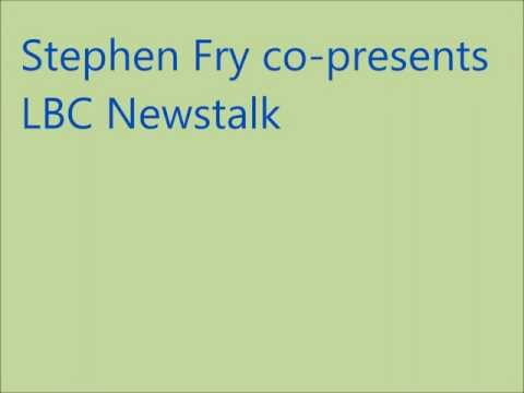 Radio Archive: Stephen Fry on LBC Newstalk Breakfast