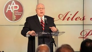 Roger Ailes rips 'lazy' Obama